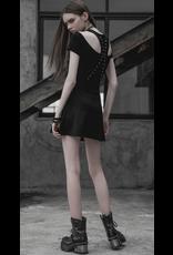 Off Shoulder Lace Up Dress