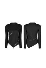 Slim Zipper Shirt