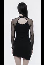 Asymmetric Cut Out Dress