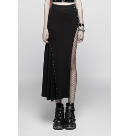 PUNKR High Slit Skirt