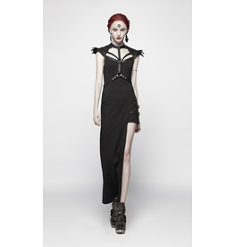 Asymmetric Harness Dress