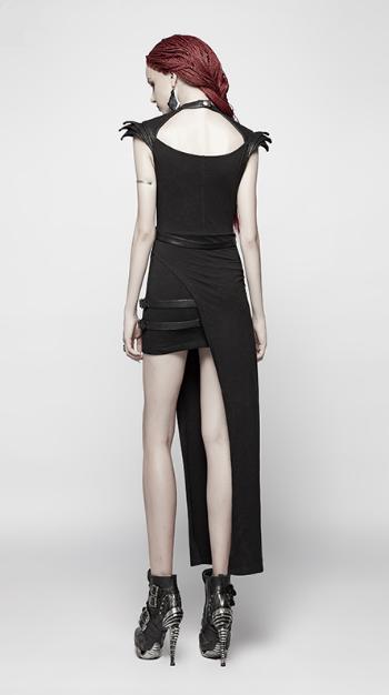 Asymmetric Harness Dress