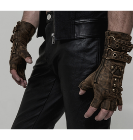 Steampunk Fingerless Gloves