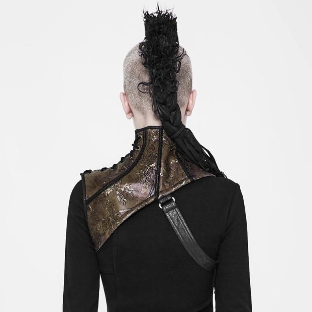 Steampunk Collar Harness