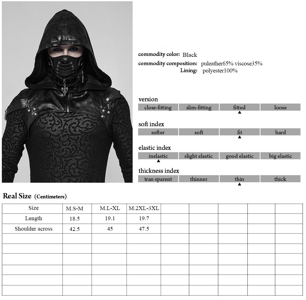 Hooded Mask Harness