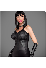 Wetlook and Lace Pocketbra Dress