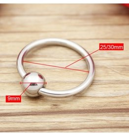 Stainless Steel Captive Bead Glans Ring