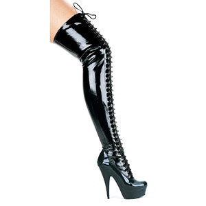 "6"" Olivia Thigh High Boots"