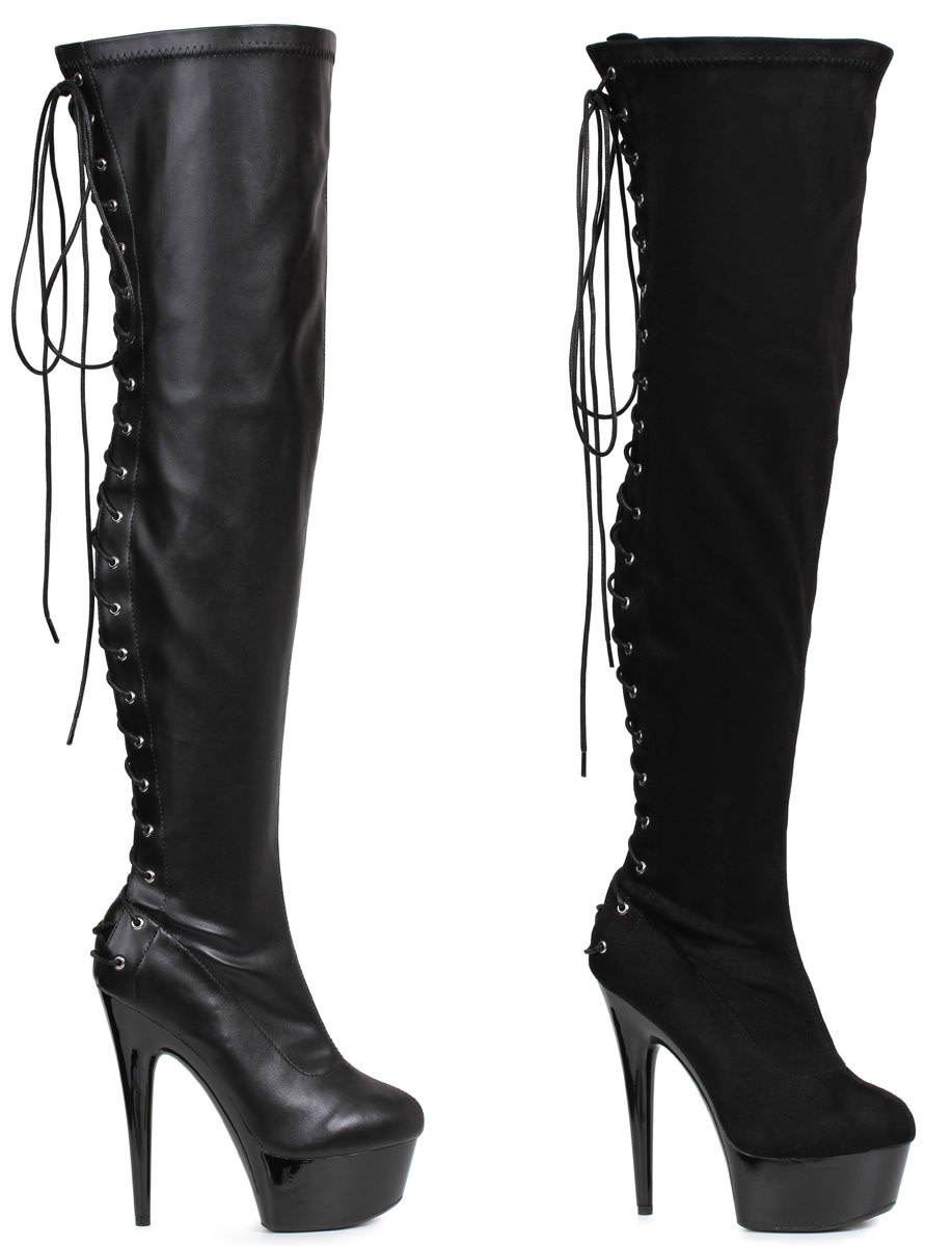"Fare 6"" Thigh High Boots"