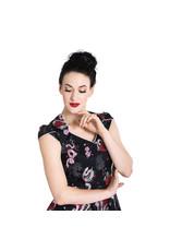 Python Rose 50s Dress