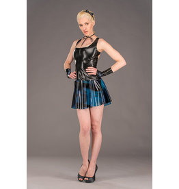 Polymorphe Marbled Latex Classic A-Line Skirt