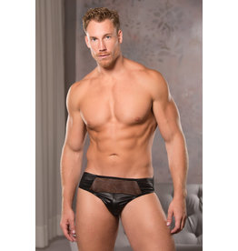 Low Cut Fishnet Brief