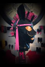 DP Latex Harness Pony Hood