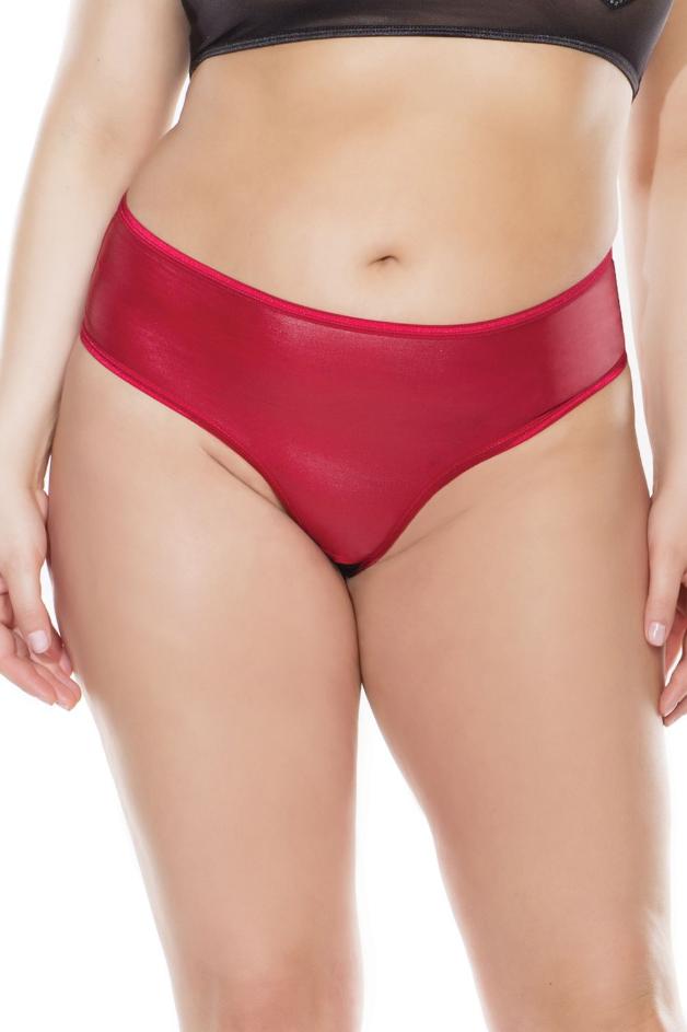 Crotchless Lace Up Panty
