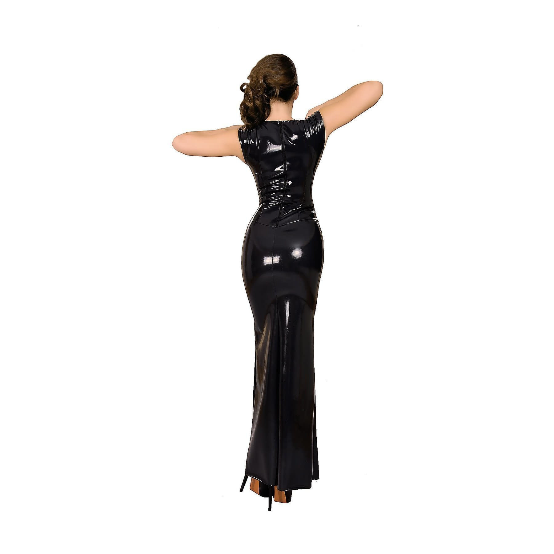 Datex Deep V Gown