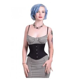 Cotton/Cashmere Blend Short Hourglass Cincher