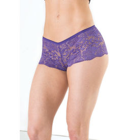 Mid Rise Lace Booty Short