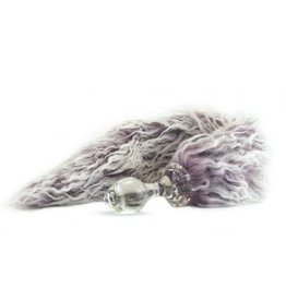 Crystal Faux Fur Tail Plug
