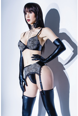 Empowering Lace and Wetlook Set