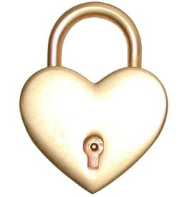 Large Heart Lock