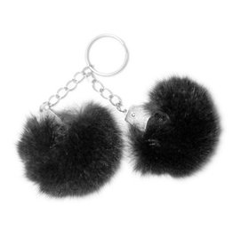 Puff Ball Keychain