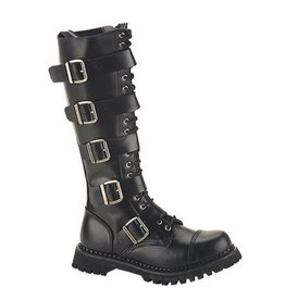 Riot 20 Eye Steel Toe Boots