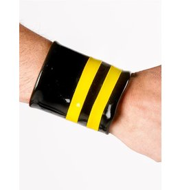 Latex Wrist Wallet W/Piping
