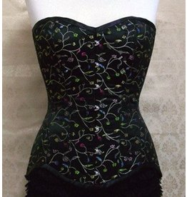 Delicious Corsets Brocade Chatterley Corset