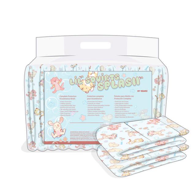 Rearz Lil Squirts Splash Print Disposables Diapers