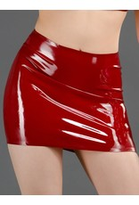DP Latex Mini Skirt