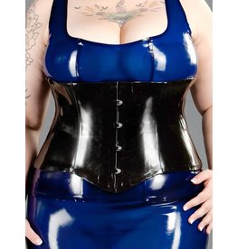 Latex Waist Cincher W/Busk