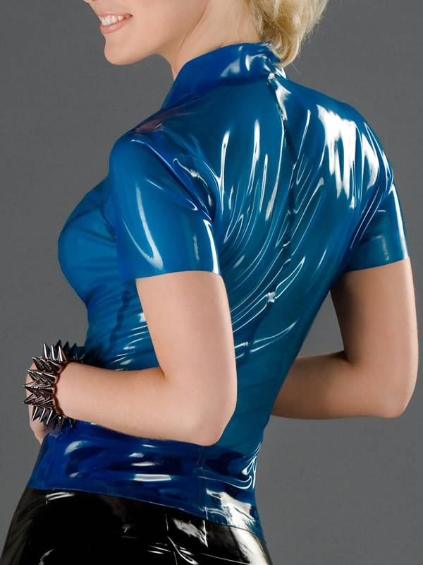 Latex School Girl Blouse