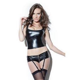 Wetlook Shorts W/Garters