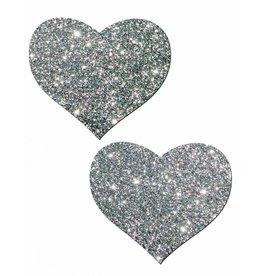 Glitter Heart Pasties