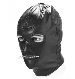 Standard Leather Zip Mouth Hood