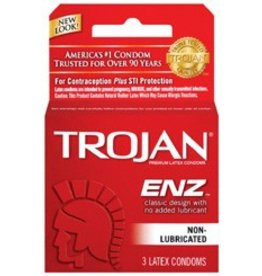 Trojan Enz Non-Lubricated Condoms