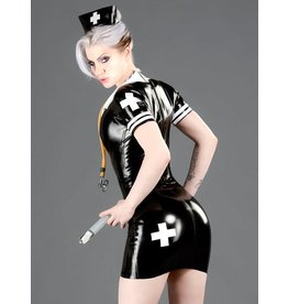 DP Latex Military/Nurse Dress