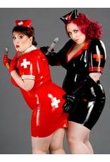 DP Latex Military/Nurse Dress