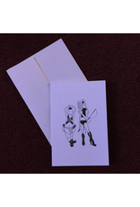 Color-Your-Kinky Greeting Card- Blank