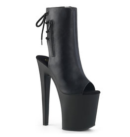 "8"" Xtreme Open Toe/Heel Ankle Boot"