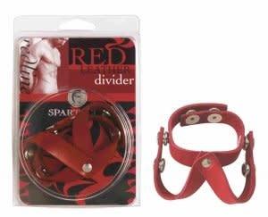 Leather V-Divider