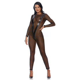 Fixation Fishnet Catsuit
