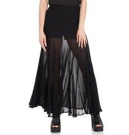 Vamped Chiffon Skirt