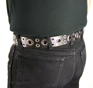 Leather Tentacle Belt