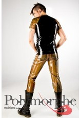 Latex Raglan T-Shirt W/Zipper