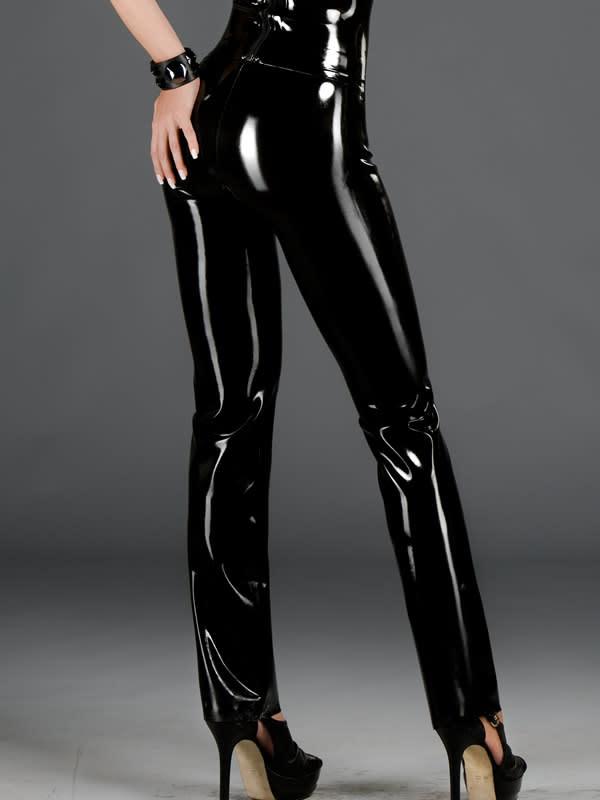 Ladies Latex Jeans