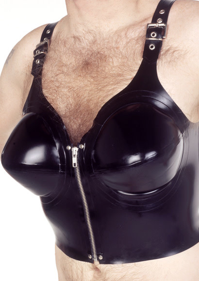 Inflatable Tit Top with Front Zip
