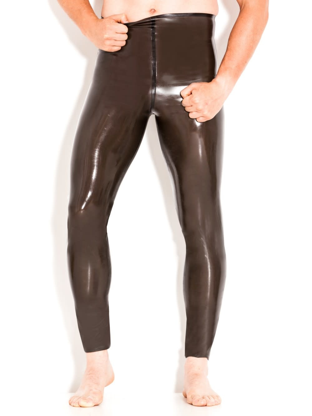 Latex Semi-Transparent Leggings