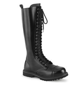20 Eyelet Unisex Steel Toe Boot