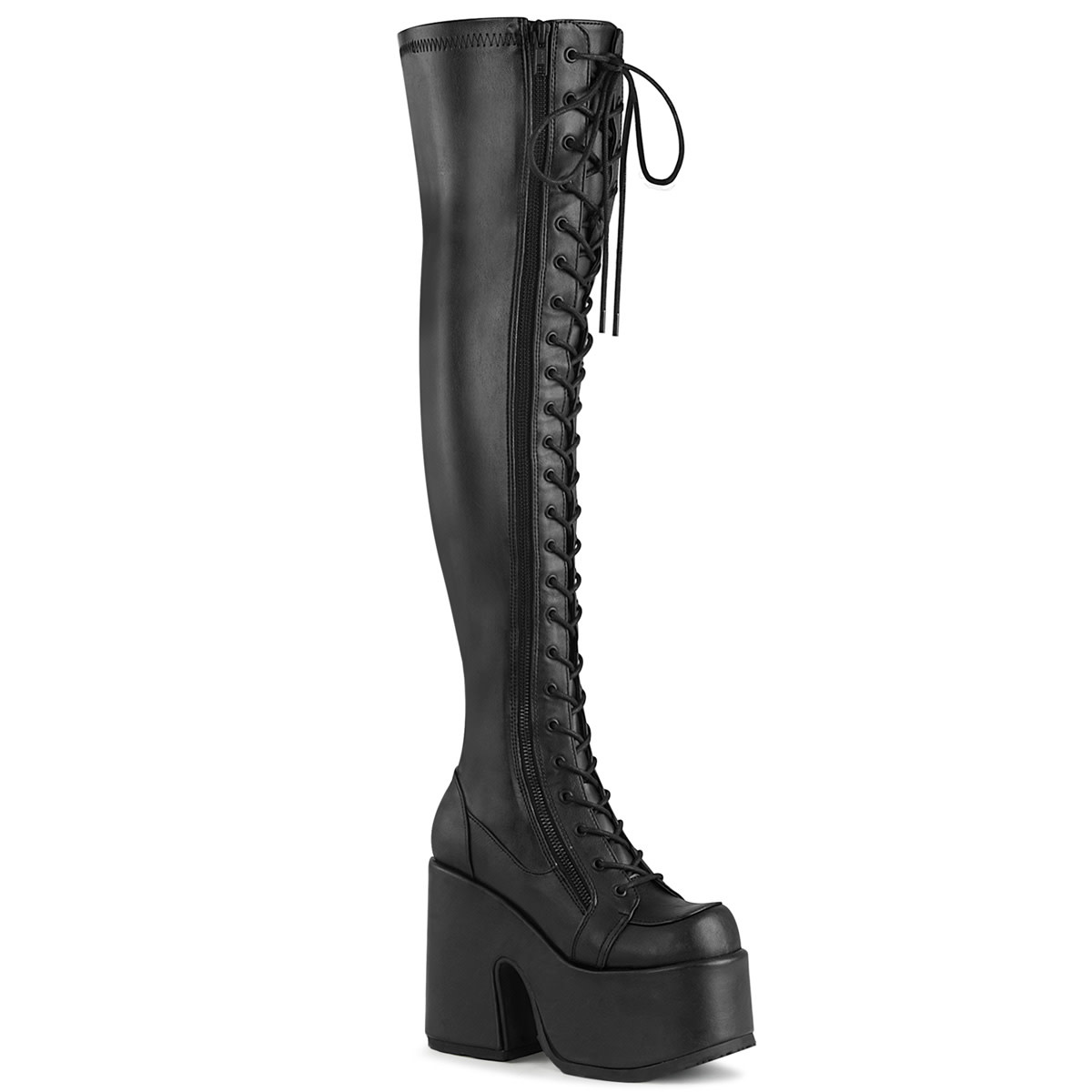 "5"" Chunky Heel Thigh High Boot"